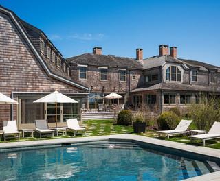 混搭风格复式公寓20万以上别墅游泳池效果图