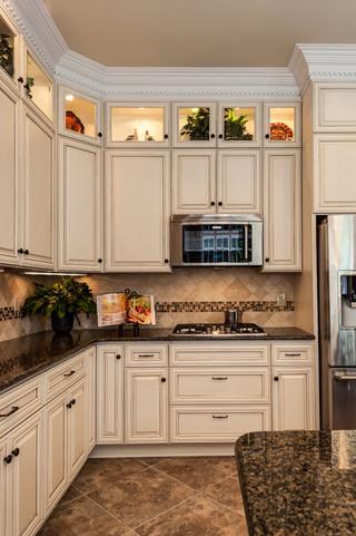 田园风格客厅一层半小别墅140平米以上2012家装厨房效果图