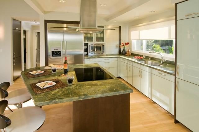 现代欧式风格富裕型140平米以上大理石餐桌图片