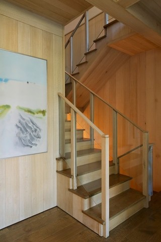 东南亚风格卧室富裕型140平米以上客厅跃层楼梯效果图