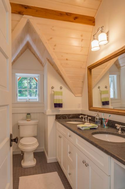 田园风格吊顶富裕型140平米以上2平米卫生间设计图