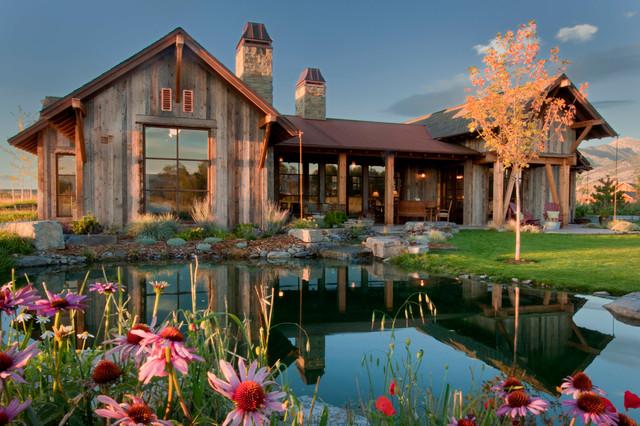 田园风格片富裕型140平米以上花园洋房装潢
