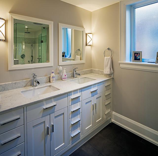 现代简约风格简洁厨房瓷砖效果图图片