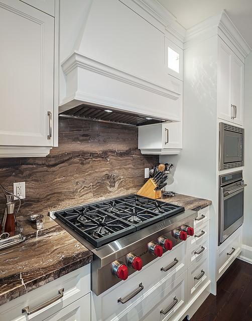 现代简约风格简洁厨房瓷砖效果图