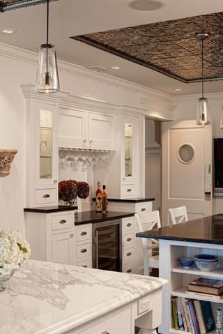欧式风格家具3层别墅白色室内豪华型家装酒吧台效果图