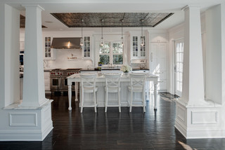 欧式风格一层别墅及白色卧室豪华型家庭吧台隔断设计