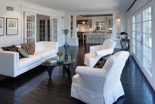 欧式风格家具三层平顶别墅豪华型2012客厅吊顶客厅吧台隔断效果图