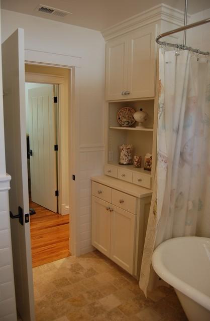 美式风格卧室3层别墅唯美整体卫浴效果图