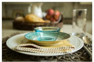 田园风格玄关2013年别墅豪华型家庭餐桌效果图