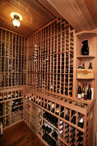 东南亚风格客厅富裕型140平米以上酒架图片