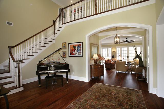 现代东南亚风格富裕型140平米以上别墅楼梯设计图设计图纸