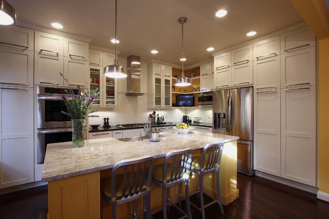 欧式风格家具富裕型140平米以上6平米厨房装修图片
