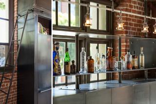 欧式风格客厅富裕型140平米以上装饰酒架效果图