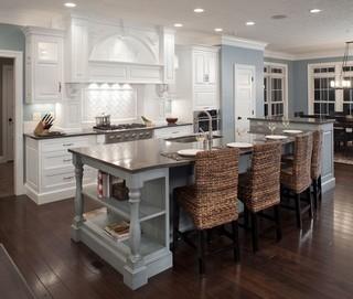 现代欧式风格富裕型140平米以上2014整体厨房设计图