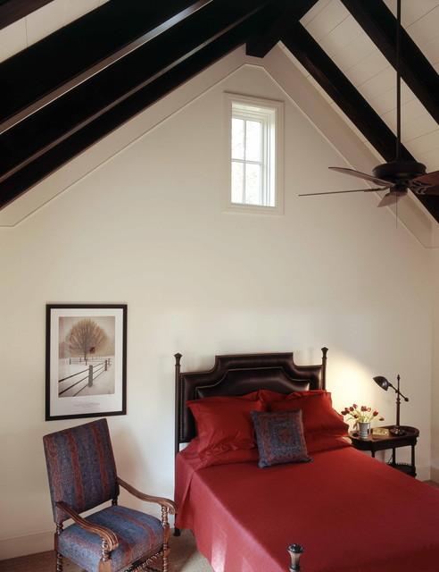 美式乡村风格卧室经济型140平米以上15平米卧室改造