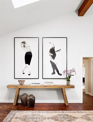 现代北欧风格二居室装饰浪漫卧室现代简约电视背景墙装修效果图