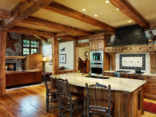 简欧风格家具艺术开放式厨房餐厅设计