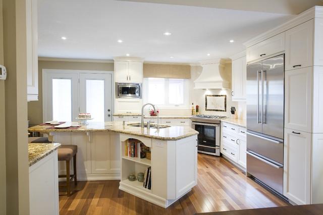 浪漫婚房布置米色4平米厨房装修