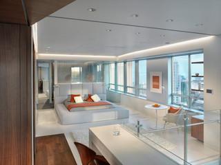 现代简约风格卧室白领公寓时尚2013卧室装修图片