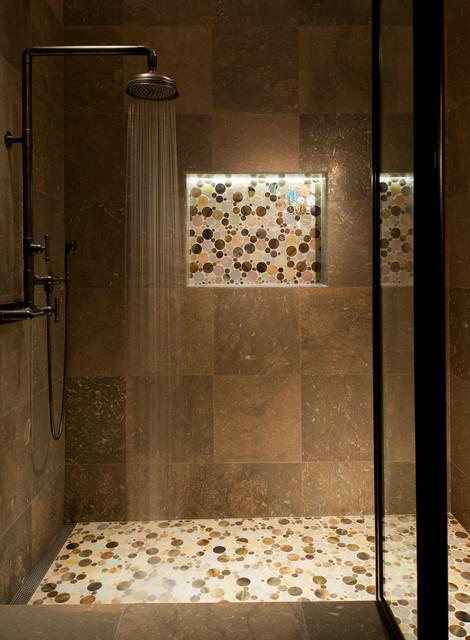 北欧风格客厅度假别墅浪漫婚房布置卫浴间瓷砖效果图