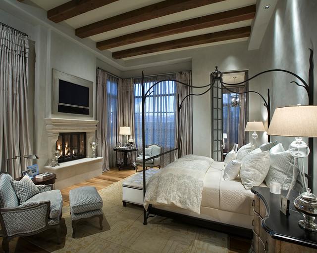 简欧风格客厅浪漫卧室冷色调7平米卧室装修