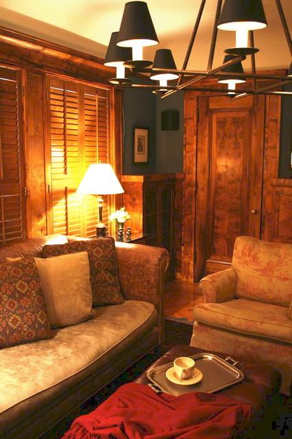 现代简约风格卧室时尚室内真皮沙发效果图