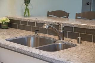 实用卧室灰色窗帘3平米厨房洗手台效果图
