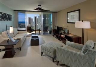 宜家风格客厅70平米两室一厅温馨装饰中式简约客厅效果图