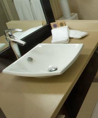 宜家风格一室一厅改两室一厅卧室温馨一体式台盆图片