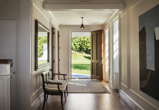 美式乡村风格卧室乡村别墅简单温馨富裕型装修走廊装修效果图