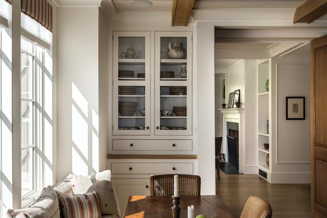 美式乡村风格客厅乡村别墅温馨富裕型现代客厅隔断设计图纸