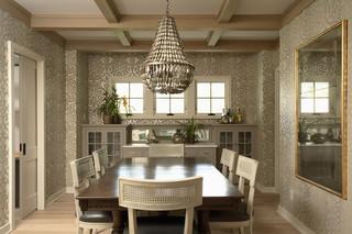 混搭风格时尚家居富裕型红木餐桌图片