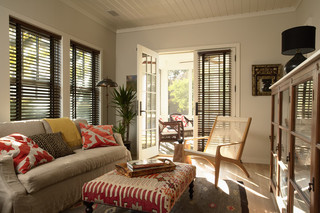 混搭风格时尚衣柜富裕型小客厅沙发装修图片
