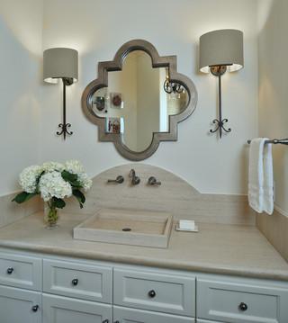 北欧风格酒店式公寓 新古典明珠梳妆台效果图