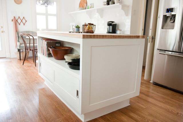 艺术白色欧式家具4平米厨房橱柜安装图