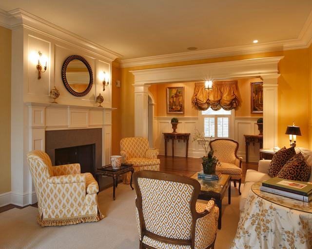 欧式风格度假别墅豪华客厅客厅沙发摆放装修