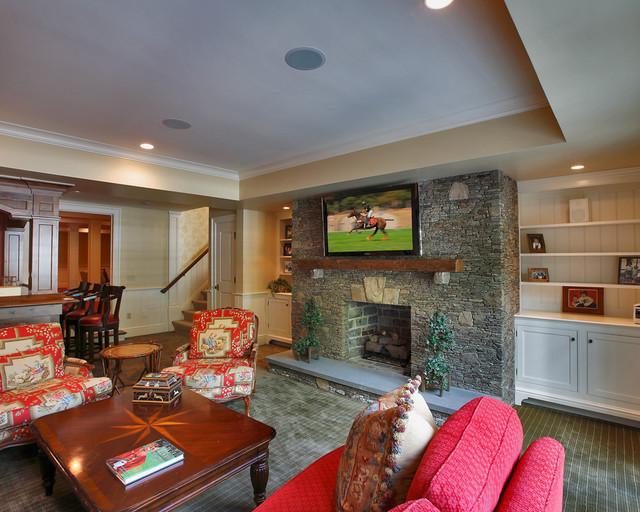 房间欧式风格度假别墅豪华卫生间大客厅电视背景墙设计