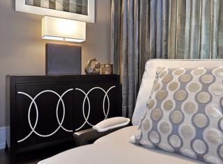 混搭风格豪华客厅大客厅电视背景墙装修效果图