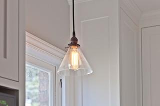 大方简洁客厅白色欧式家具6平米厨房客厅与餐厅灯图片