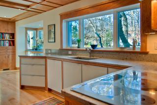 现代简约风格餐厅实用卧室米黄色调墙壁经济型洗手台效果图