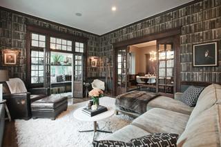 北欧风格卧室大气黑色客厅隔断设计图