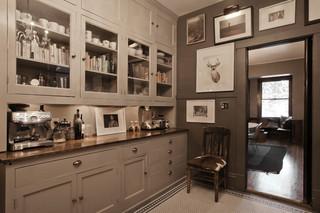 北欧风格客厅大气黑色储藏室装修效果图
