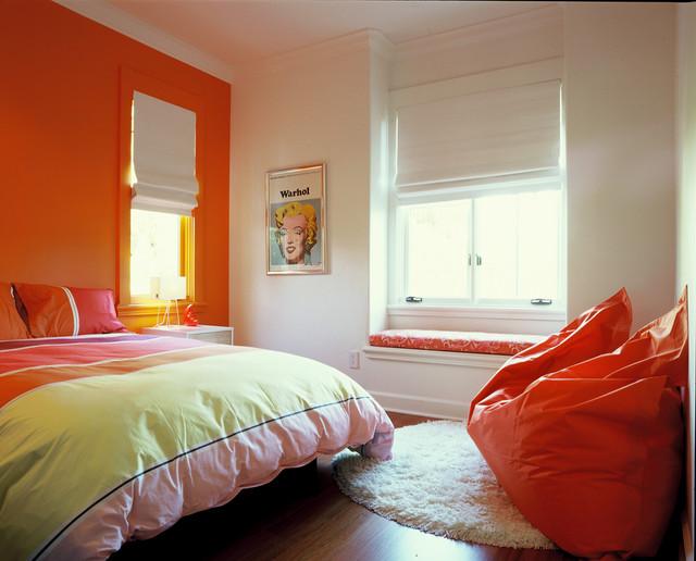 现代美式风格酒店公寓4平米卧室装修图片