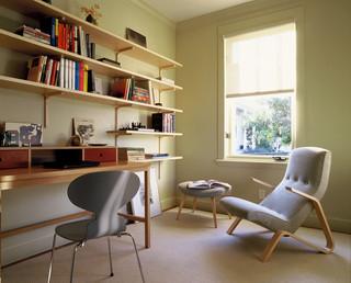 现代美式风格小型公寓6平米卧室装潢