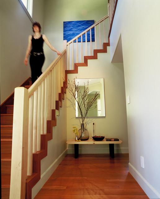 现代美式风格单身公寓2013卧室室内楼梯设计