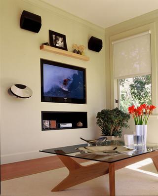 美式风格客厅精装公寓10平米小卧室改造