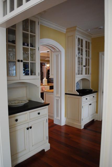 美式乡村风格客厅精装公寓门厅灯池客厅 吧台设计图