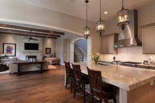 美式风格暖色调豪华型2012客厅客厅过道吊顶设计