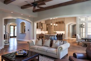 美式风格卧室暖色调豪华型 客厅客厅过道吊顶设计图纸
