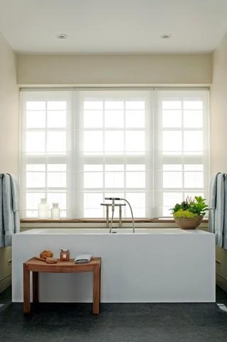 现代欧式风格2014小户型白色50平米一室一厅工作区效果图